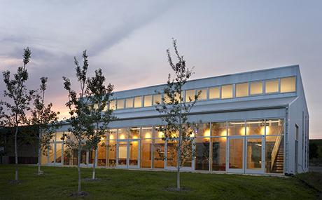 Environmental Education Center design by Koch Hazard Architects